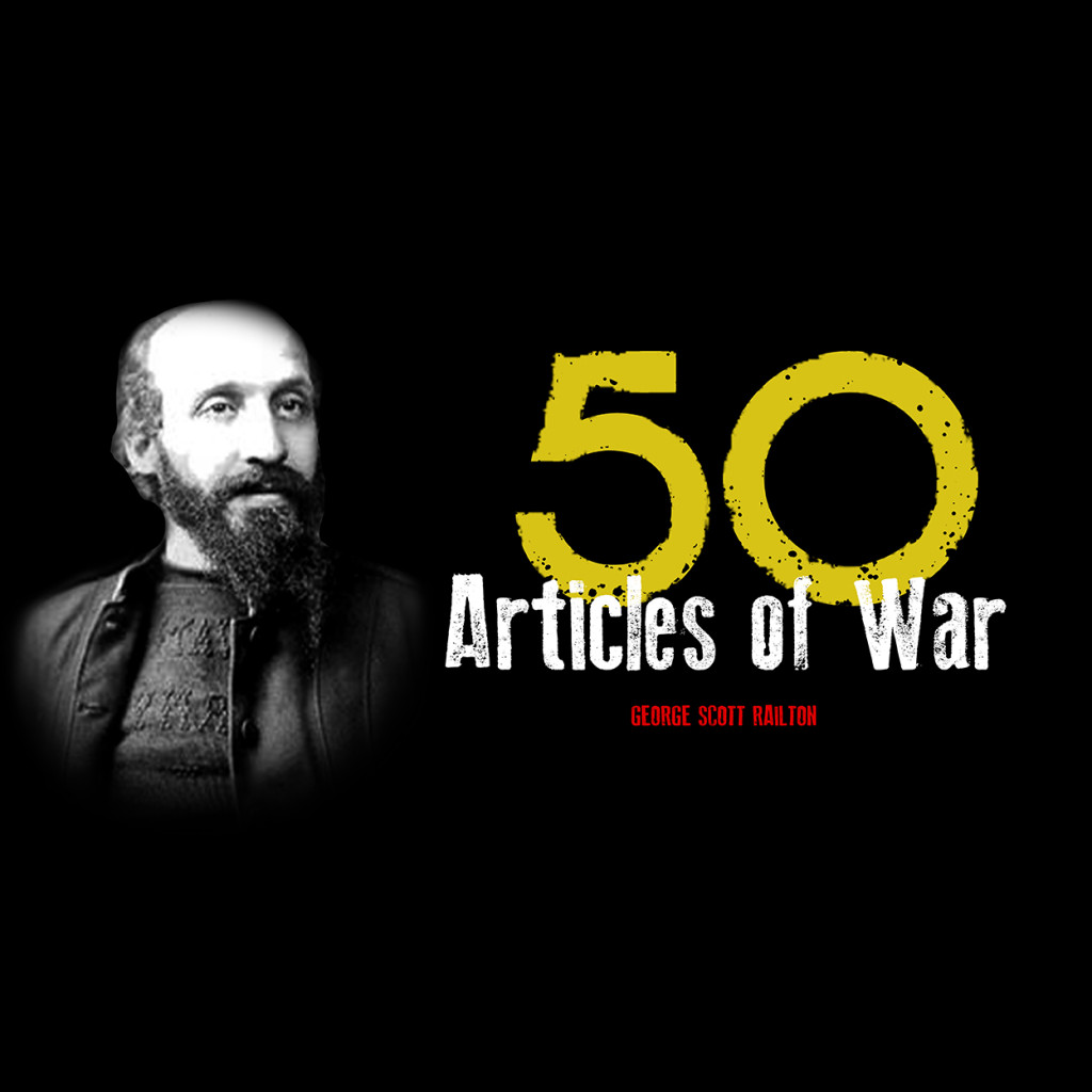 50 articles of war square