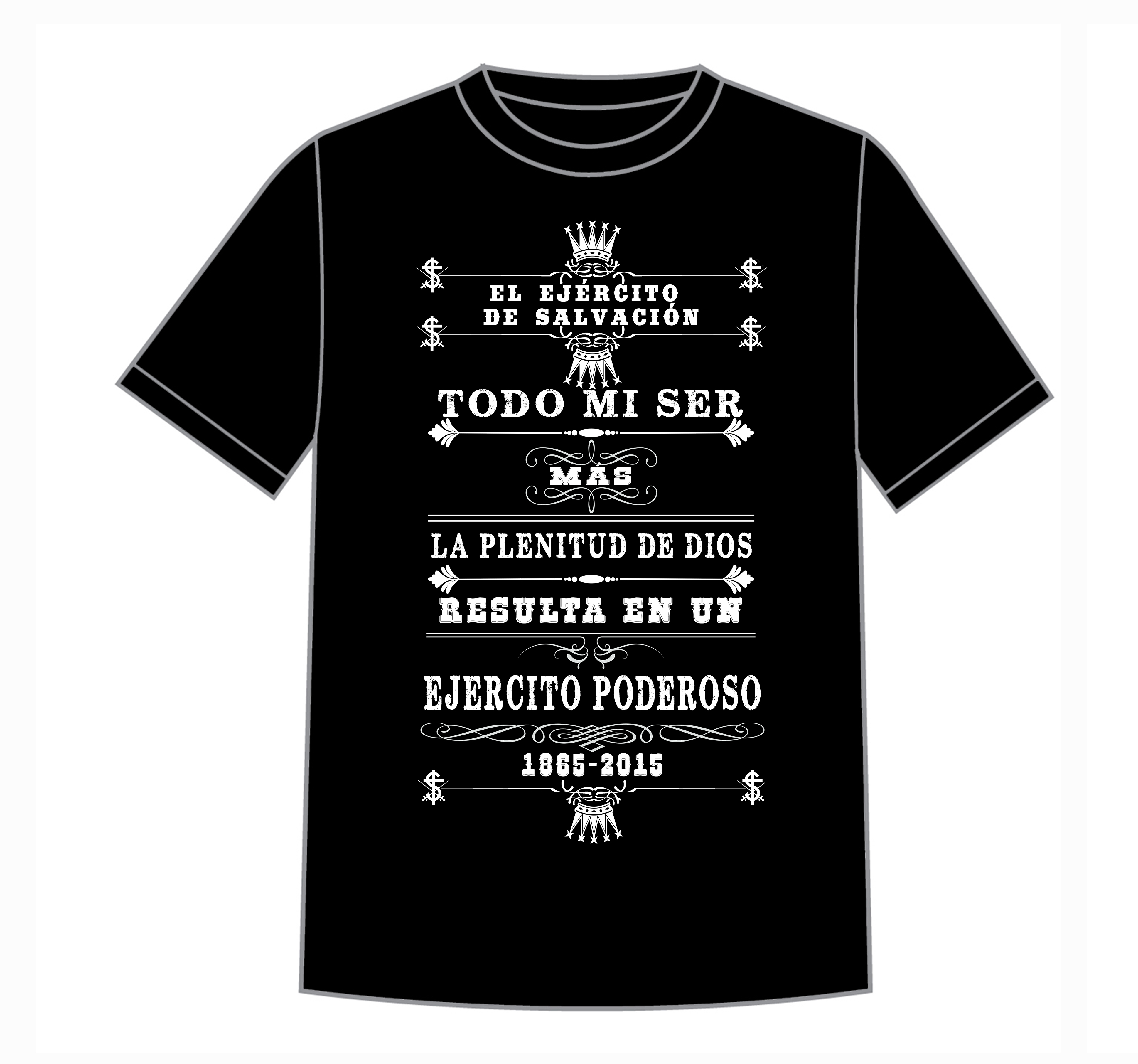 150th anniversary salvation factory for T shirt sample design