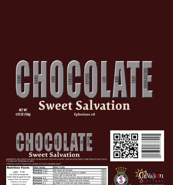Chocolate Bar 4.25oz