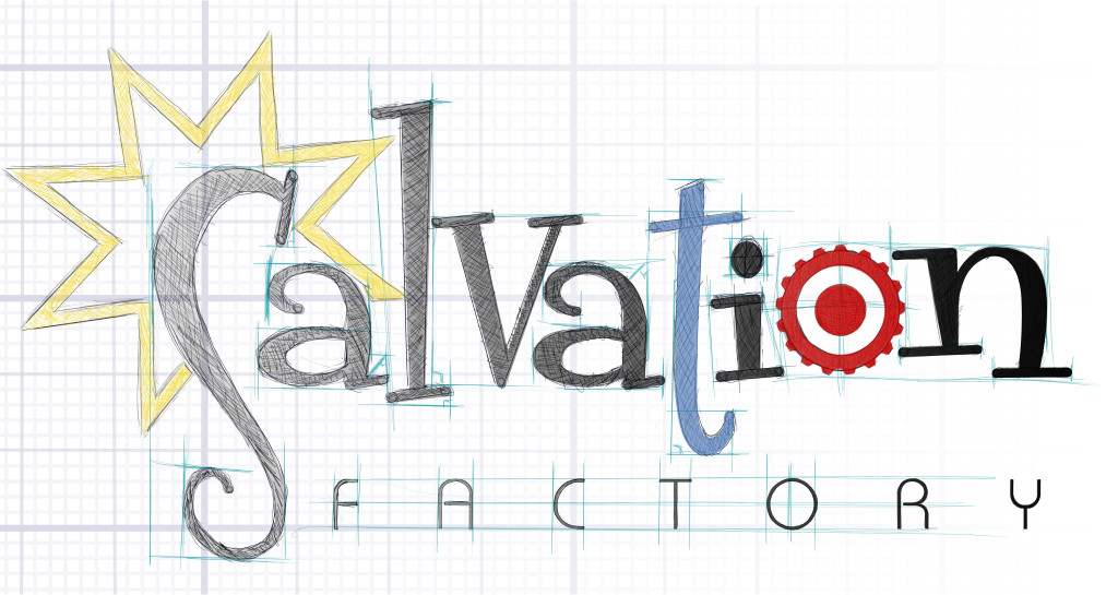 Salvation Factory logo altered