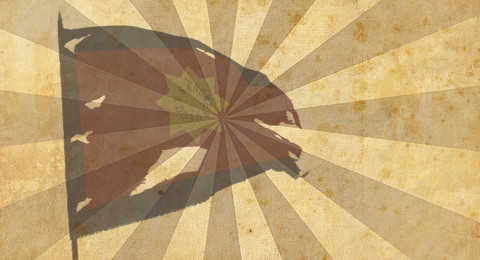 Tattered Flag – Sun – Widescreen